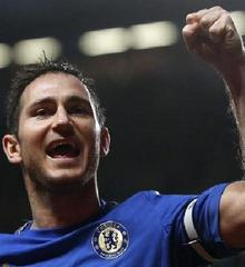 And man of the moment, Frank Lampard.